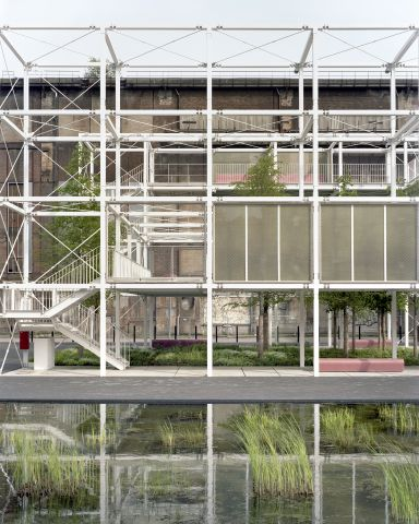 LUXEMBOURG,  ESCH-SUR- ALZETTE, campus de l'université des sciences