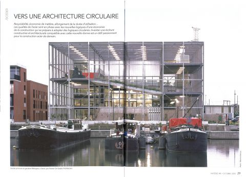 VERS UNE ARCHITECTURE CIRCULAIRE